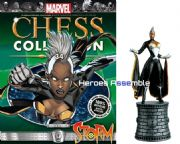 Marvel Chess Collection #34 Storm With Chess Board Eaglemoss Publications
